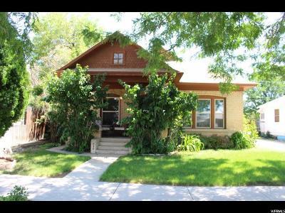 Price UT Single Family Home Under Contract: $169,500