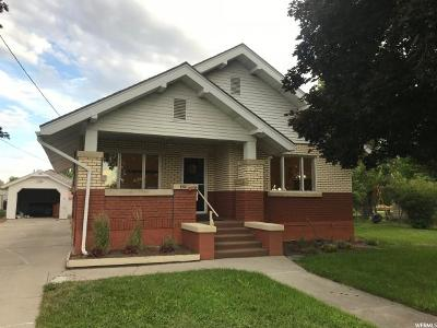 Smithfield Single Family Home For Sale: 320 W 100 N