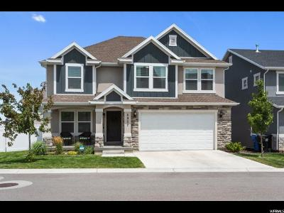 Herriman Single Family Home Backup: 4952 W Chrome Rd S