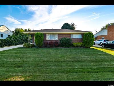 Midvale Single Family Home For Sale: 8120 S Monroe St