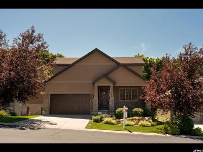 Fruit Heights Single Family Home For Sale: 1586 E Mirabella