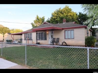 Tooele County Single Family Home For Sale: 236 Date St