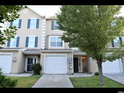 Wasatch County Townhouse For Sale: 443 W Edinburgh Ln N