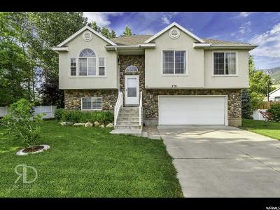 Centerville Single Family Home Under Contract: 776 W 1875 N