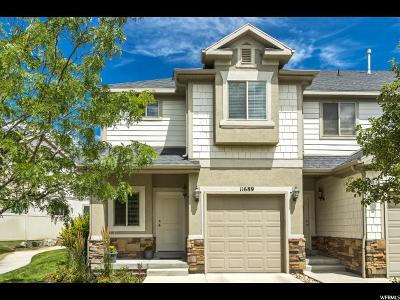 Draper Townhouse Under Contract: 11689 S Shadow View Ln