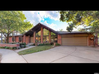 Sandy Single Family Home Under Contract: 11626 S High Mountain Dr