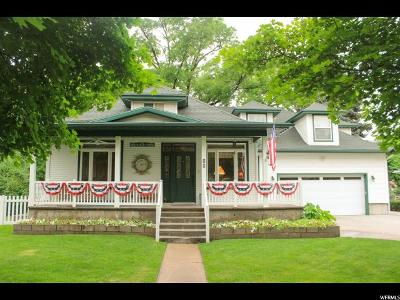 Hyrum Single Family Home For Sale: 86 S 100 W