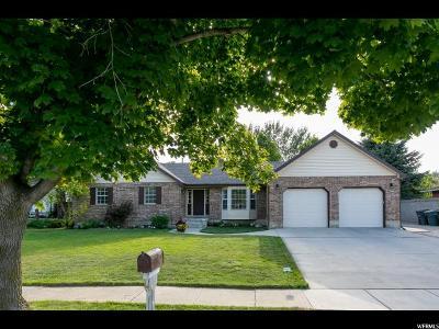 South Jordan Single Family Home For Sale: 9790 S Lampton Cir