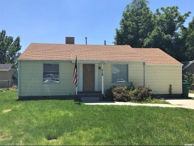 Davis County Single Family Home Under Contract: 319 S Park St W