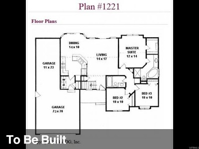 Tremonton Single Family Home Under Contract: 422 W 450 S