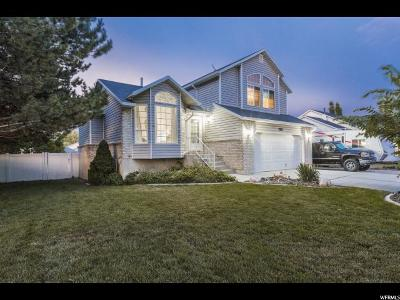 West Jordan Single Family Home Under Contract: 7693 S Eveningshade Dr W