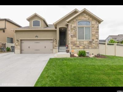 South Jordan Single Family Home For Sale: 11154 S Tothill Way W