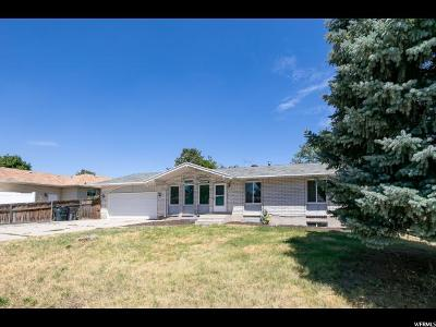 South Jordan Single Family Home Under Contract: 4052 W Kirkwall Cir S
