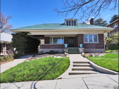 Salt Lake City Multi Family Home Under Contract: 1403 Butler