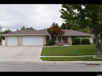South Jordan Single Family Home Under Contract: 9492 S Chavez Dr