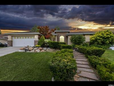 West Jordan Single Family Home For Sale: 8392 S Wild Oak Dr W
