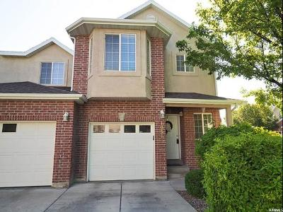 South Jordan Townhouse Under Contract: 10563 S Sage Creek Rd W