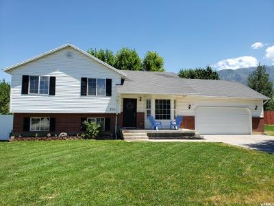 Santaquin Single Family Home Under Contract: 724 N 240 W