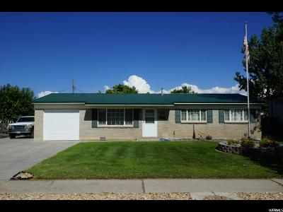 Tremonton Single Family Home Backup: 417 S 700 W