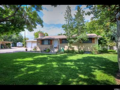 West Jordan Single Family Home For Sale: 1854 W Sugar Factory Rd. Rd S