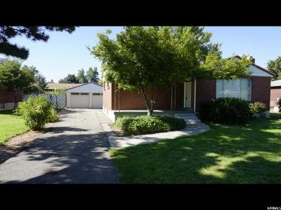 Midvale Single Family Home Under Contract: 386 E 6990 S