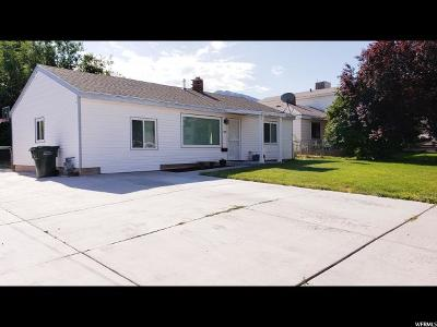 Tooele County Single Family Home Under Contract: 128 N 1st St E