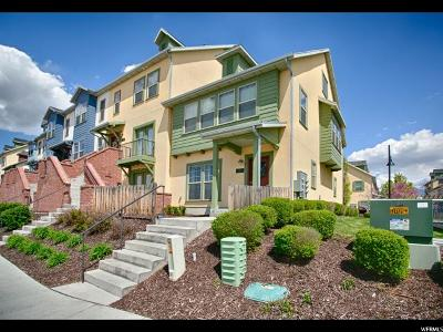 Midvale Townhouse Under Contract: 7652 S San Savino Way W