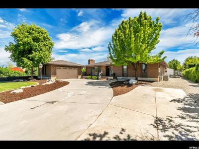 West Jordan Single Family Home Under Contract: 2843 W 9150 S