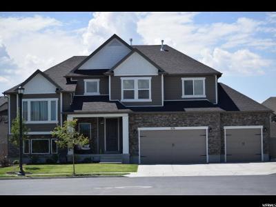 South Jordan Single Family Home Backup: 3574 W Dry Ridge Cv S