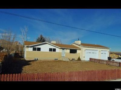 Carbon, Emery County Single Family Home Under Contract: 370 W 200 N