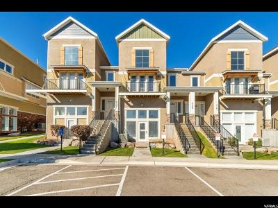 Herriman Townhouse For Sale: 5159 W Ryegate Dr S