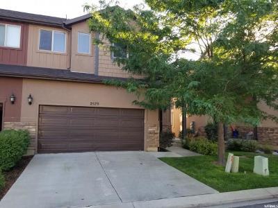 Lehi Townhouse For Sale: 2579 N Elm Dr