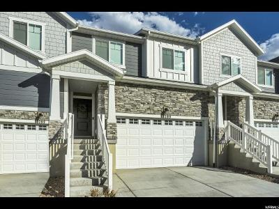 Bluffdale Townhouse For Sale: 15399 S Skyraider Ln