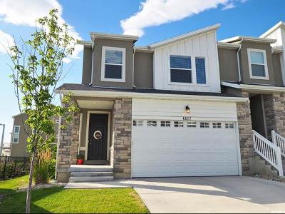 Herriman Townhouse For Sale: 4417 W Hill Shadow Way S