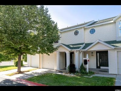 Tooele County Condo For Sale: 82 W 1930 N