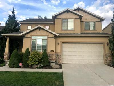 Draper Single Family Home Backup: 14932 S Eagle Crest Dr