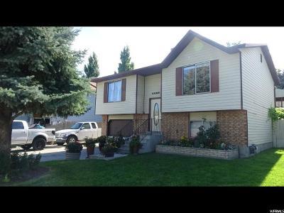 West Jordan Single Family Home For Sale: 6692 S Marshrock Rd W