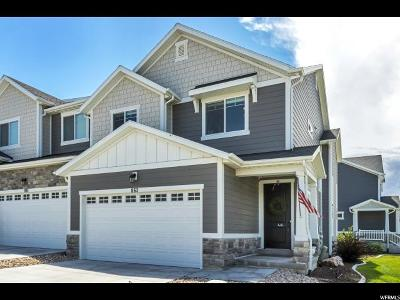 Bluffdale Townhouse Under Contract: 863 W Bataan Ln S #186