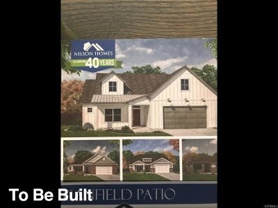 Weber County Single Family Home For Sale: 4376 W 3800 S #120