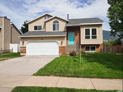Kaysville Single Family Home Under Contract: 1679 S 500 E