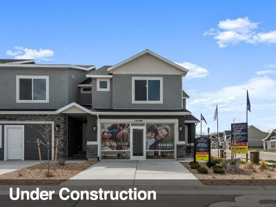 Herriman Townhouse For Sale: 5086 W Forza Ct