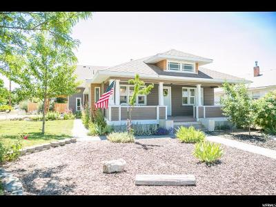 Single Family Home Under Contract: 306 W 100 N