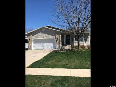 Kaysville Single Family Home Under Contract: 1767 S 450 E
