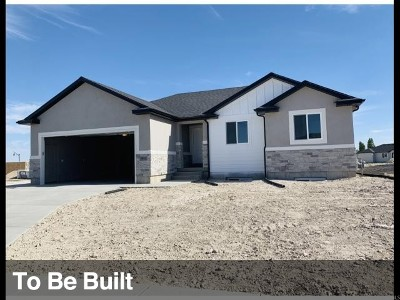 Tooele County Single Family Home For Sale: 90 S Mustang Rdg #111