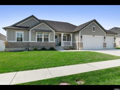 Lehi Single Family Home For Sale: 3491 W 2550 N