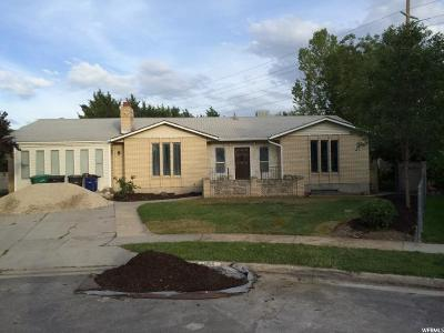 West Jordan Single Family Home Under Contract: 1155 W Midvalley Cir S