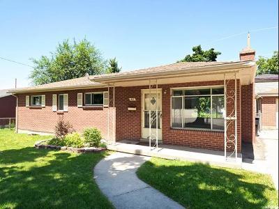 Bountiful Single Family Home Under Contract: 63 E 1300 S
