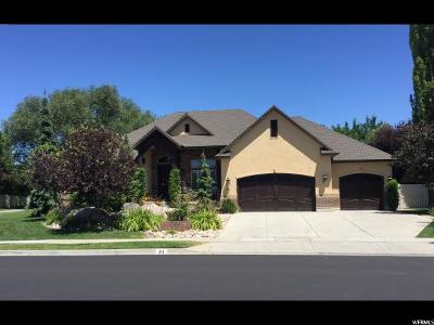 Kaysville Single Family Home Under Contract: 21 S Shadow Breeze Rd W