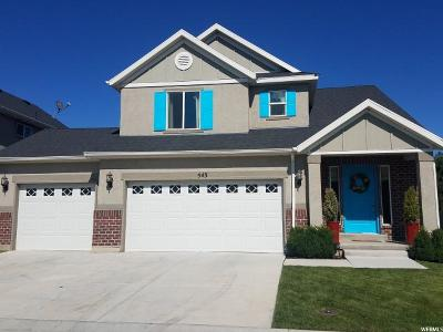 Pleasant Grove Single Family Home Under Contract: 543 S 2250 W