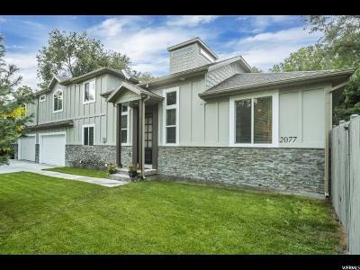 Holladay Single Family Home For Sale: 2077 E Fardown S